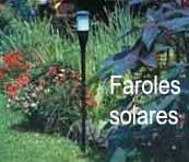Construcci n de jardines jard n for Farolas solares jardin