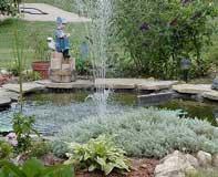 Flores plantas jardines rosas jard n flor 50 for Estanque reflectante