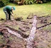 Drenajes del suelo suelos for Drenaje de jardin